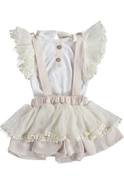 İnci Moda Askı Etekli Tüllü Elbise