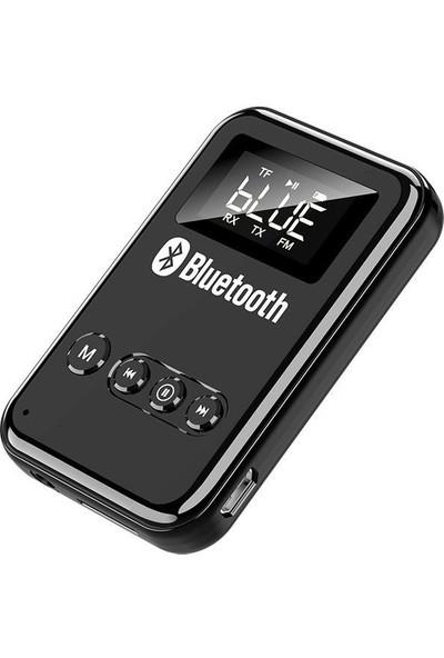 Valkyrie Bluetooth Fm 5.0 Hıfı Stereo Ses Alıcı Verici