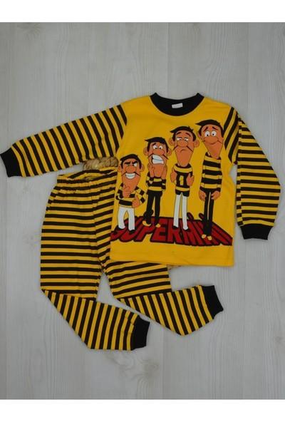 Markacity Erkek Çocuk Dalton Baskılı Pijama Takımı