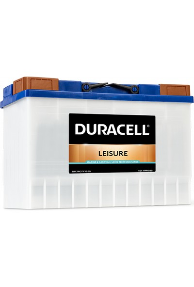 Duracell Leısure Dl 115 Ah. Deep Cycle (Marın&Karavan) Akü
