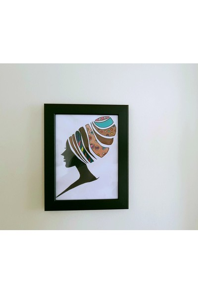 İntegral Sanat Zenci Kadın