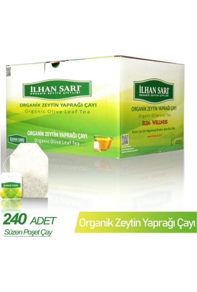 Ilhan Sarı Organik Zeytin Yaprağı Çayı Koli