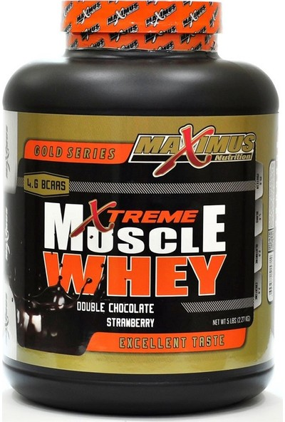 Maximus Nutrition Muscle Whey Protein 2270 gr Çikolata Çilek
