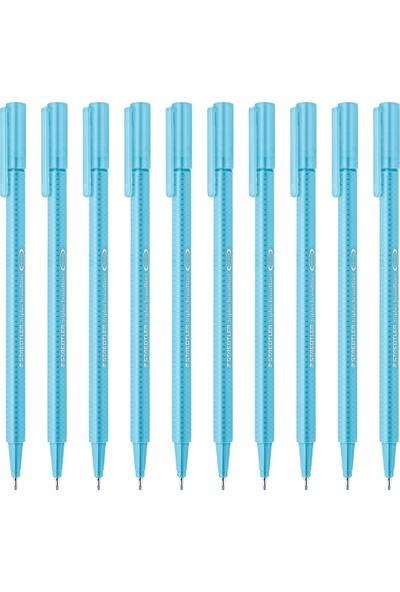 Staedtler Triplus Broadliner 0.8 mm Keçe Kalem Su Mavisi