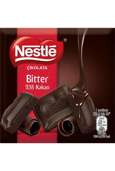 Nestle Çikolata %52 Bitter 60 G - 6 Adet