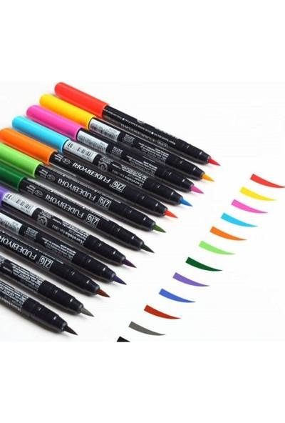 Zig Fudebiyori Brush Pen Fırça Uçlu Kalem Seti 36 Renk