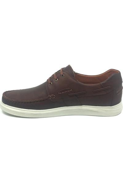 Luis Figo Deri Erkek Yazlık Rahat Tımbır Ayakkabı 45-48
