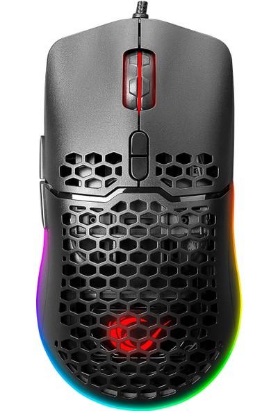 Rampage X-Titan 7200 DPI RGB Aydınlatmalı Süper Hafif Makrolu Gaming Oyuncu Mouse