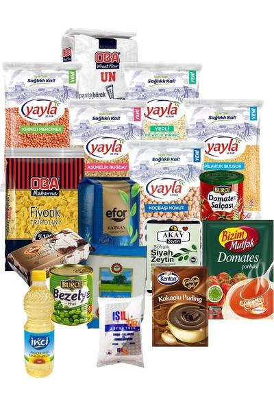 Oba Gıda Erzak Paketi 28 Parça