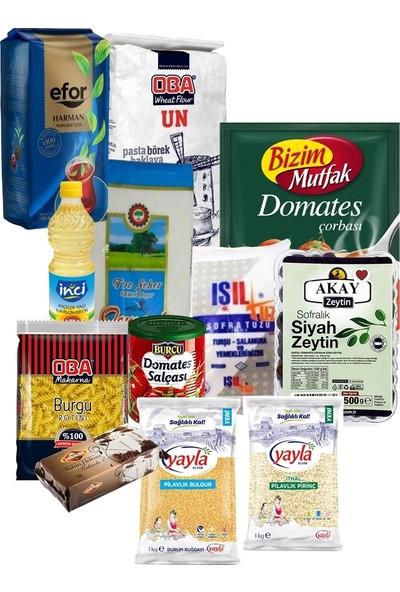 Oba Karma Gıda Erzak Paketi 17 Parça