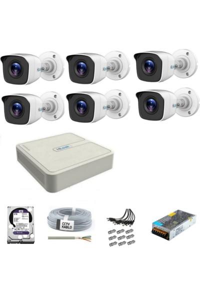 Hilook Güvenlik Kamera Seti 6 Kameralı