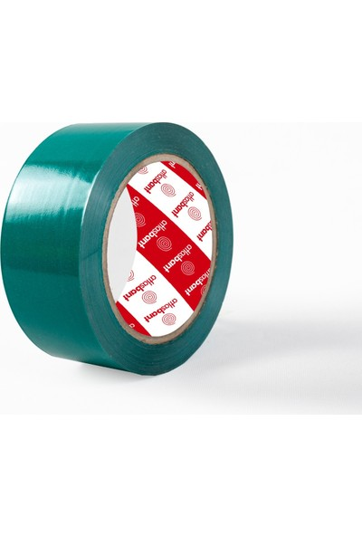 Atlas Bant Hotmelt Yeşil Renkli Koli Bandı 45 mm x 100 M
