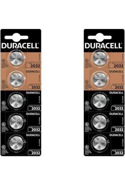 Duracell 2032 Lithium 3V Kartela 10'lu