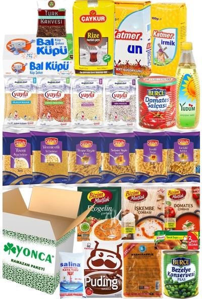 Ramazan Erzak Yardım Paketi Kolisi Hediye 25 Parça No:6