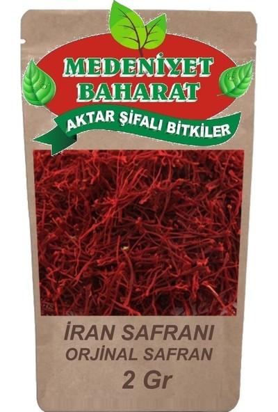 Medeniyet Baharat Iran Safranı 2 gr