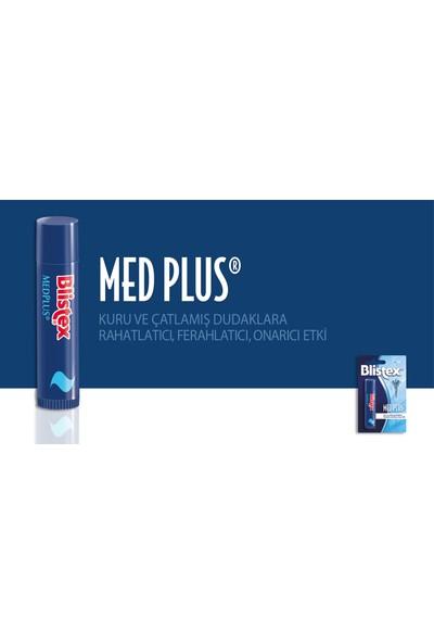Blistex Kuruyan ve Çatlayan Dudaklara Yoğun Bakım Gkf 15 Medplus Stick SPF15 4,25 G x 4 Adet
