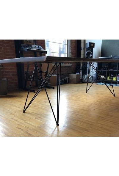 Abronya Masa Ayağı Çapraz Metal Masa Ayağı Çalışma Masası Ayak Modelleri