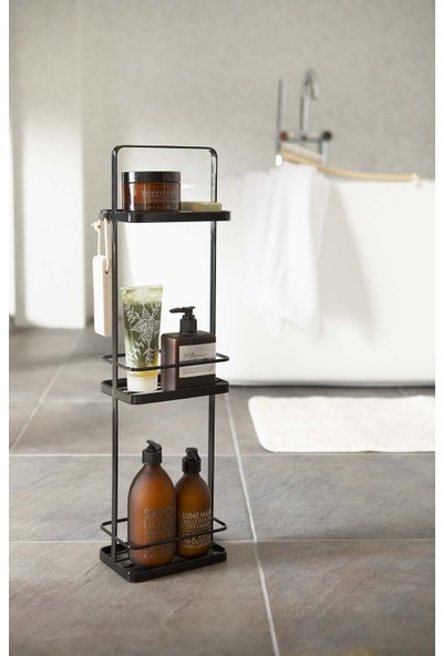 Abronya Banyo Aksesuarları Metal Raflı Sabunluk Banyo Askısı