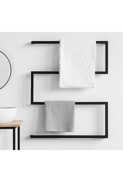 Abronya Metal Banyo Askısı Havluluk Banyo Askısı Havlu Tutacağı Duvar Askı Modelleri
