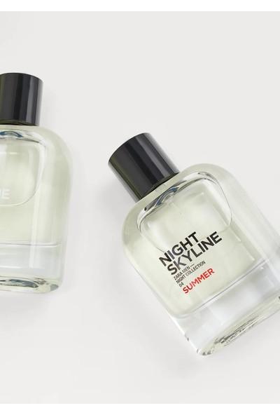 Zara Night Skyline + Night Skyline Summer Edt 80ML - Night Collectıon (2,71 Fl. Oz). Erkek Parfüm Seti