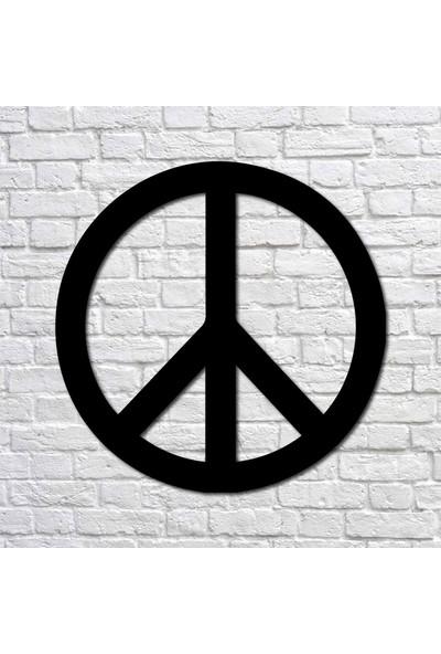 Bafidica Metal Tablo - Barış Sembolü Mini Boy - Duvar Dekoru