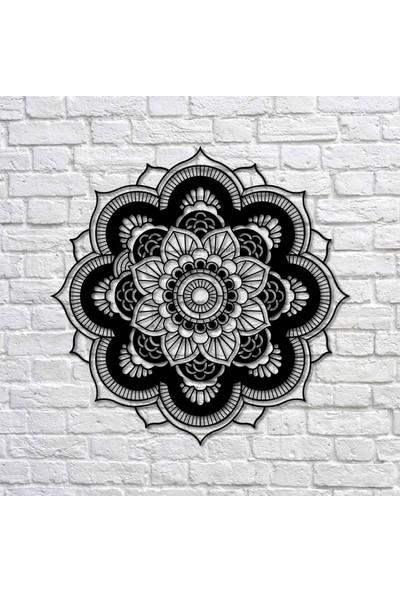 Bafidica Metal Tablo - Mandala Iıı Duvar Dekoru - Duvar Dekoru