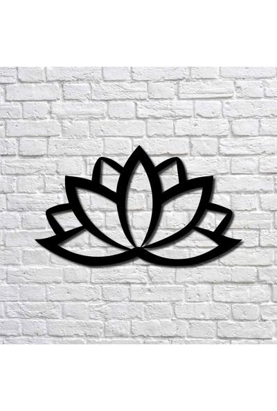 Bafidica Metal Tablo - Lotus Çiçeği Mini Boy - Ev Dekorasyon