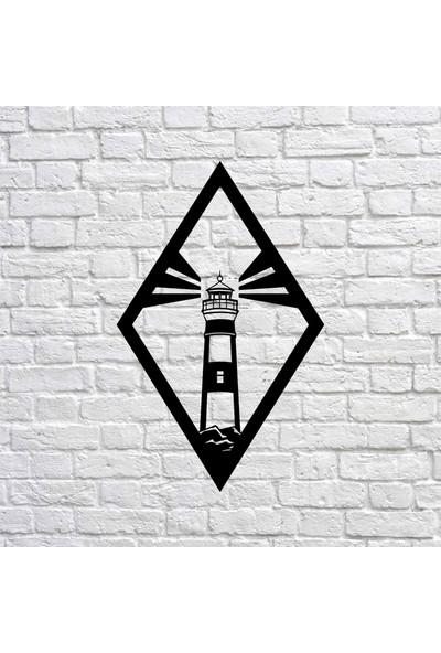 Bafidica Metal Tablo - Lighthouse - Duvar Dekoru - Ev Dekorasyon