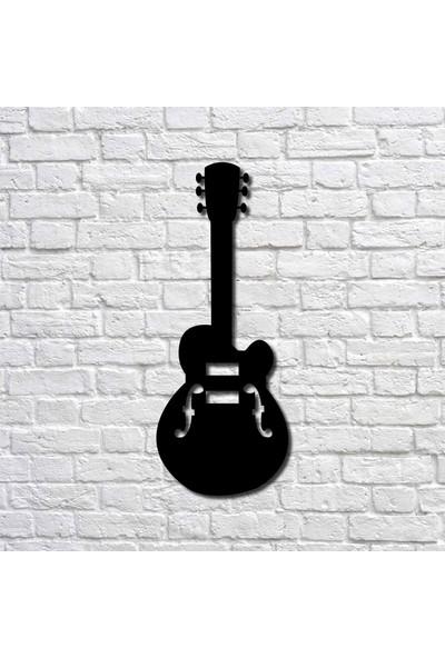 Bafidica Metal Tablo - Akustik Gitar I - Ev Dekorasyon - Duvar Dekoru