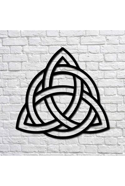 Bafidica Metal Tablo - Trinity Knot Iı Mini Boy - Duvar Dekoru