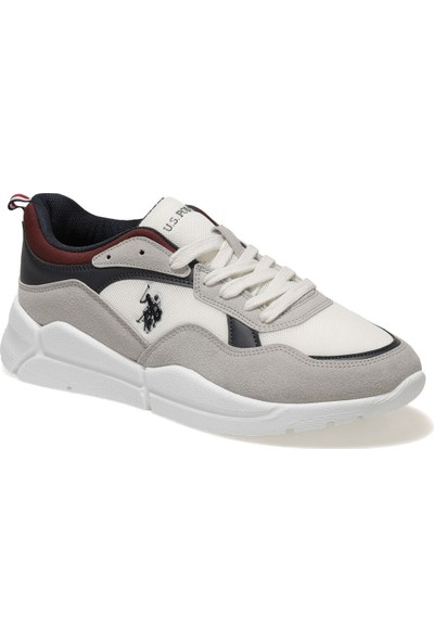 U.S. Polo Assn. Callum Smr 1fx Beyaz Erkek Sneaker Ayakkabı