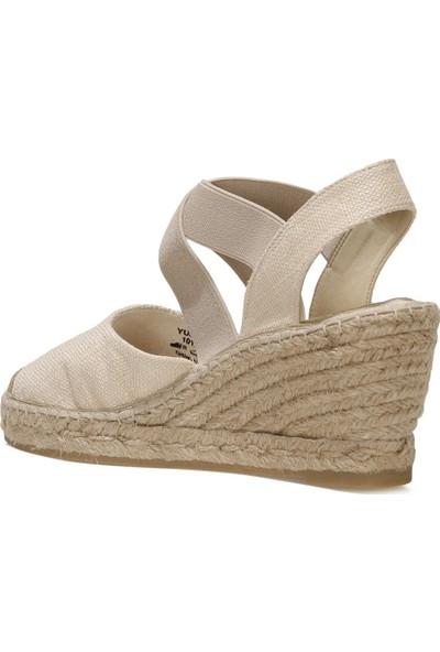 Inci Yujso 1fx Bej Kadın Espadril Ayakkabı