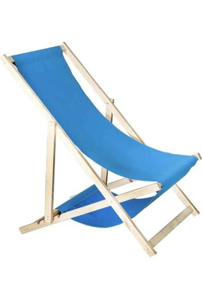Weblonya Katlanır Bahçe Şezlong Koltuk Şemsiyeli Sandalye 2135