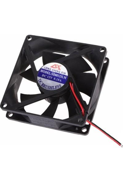 Fan 8X8X2.5 cm 12V 0.15A SD-0812SLM