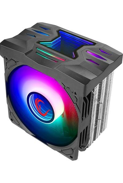 Rampage DEEPSPACE-600 2000 Rpm Argb Fanlı Cpu Soğutucu