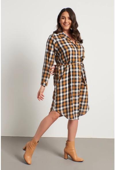 Myline Gömlek Elbise