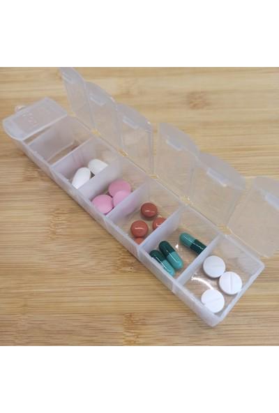 Eba Life Haftalık Ilaç Saklama Kutusu Günlük Kapaklı Ilaç Kabı