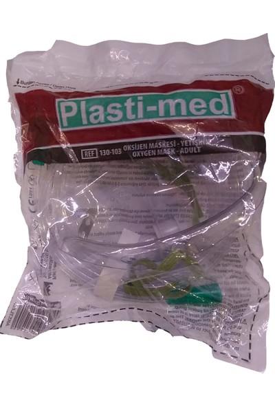 Plasti-Med Oksijen Maskesi Haznesiz