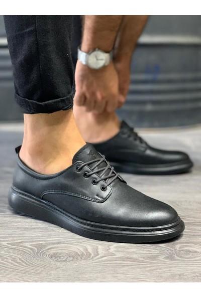 Orya Knack Klasik Erkek Ayakkabı 001 Siyah (Siyah Taban)