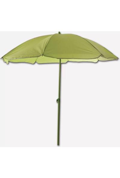 Sunfun Şemsiye - 180 cm - Yeşil - Ürün Güneşten Korunma Için Uygundur