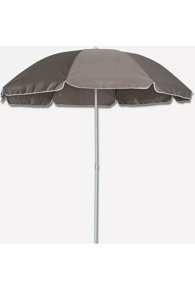 Sunfun Şemsiye - Çap 200 cm - Gri - Ürün Güneşten Korunma Için Uygundur