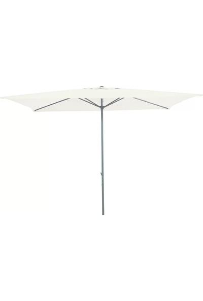 Sunfun Venetien Şemsiye - 200X300 cm - Beyaz - Ürün Güneşten Korunma Için Uygundur