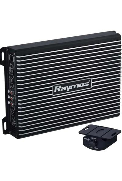Raymos Rym-70.4 4000WATT 4X70RMS Bass Kumandalı Oto Amfi