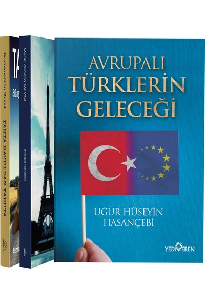 Avrupa'da Yaşam 3 Kitap Set - Zümra Nur Efşan - nazan Arısoy