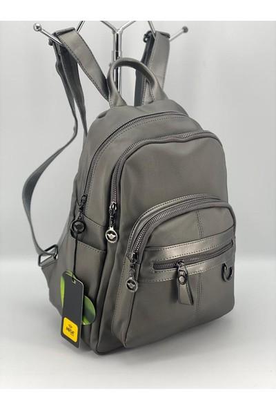 MEGA-608 Çok Gözlü Kadın Sırt Çanta