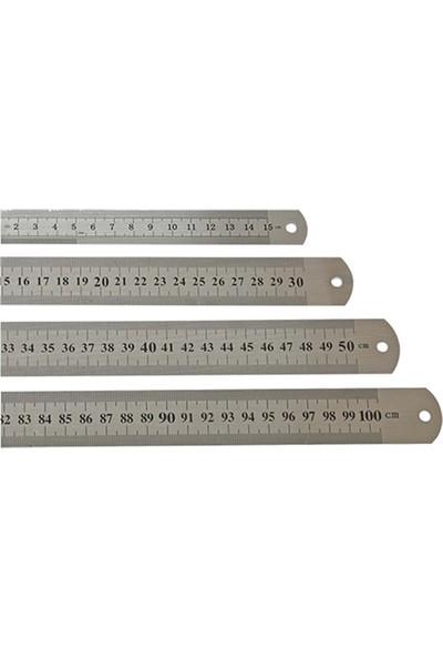 Mizy Çelik Cetvel 150 cm