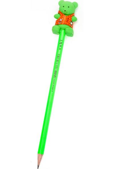 Vuki 3D Ayıcık Silgili Kurşun Kalem