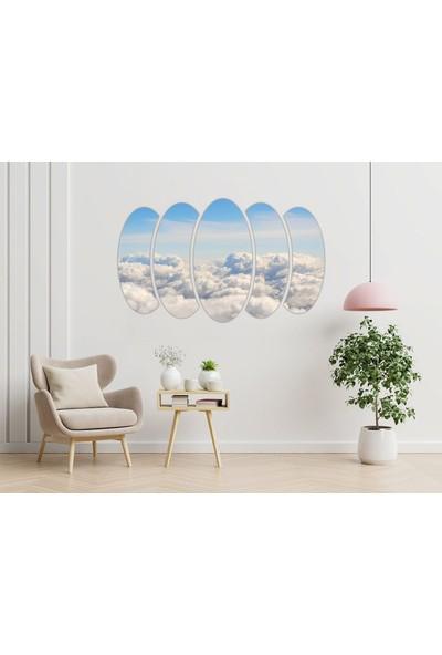 Renkselart Gökyüzü Mdf TABLO-1490