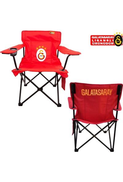 FUNKY CHAIRS Galatasaray Lisanslı Katlanabilir Kamp Sandalyesi