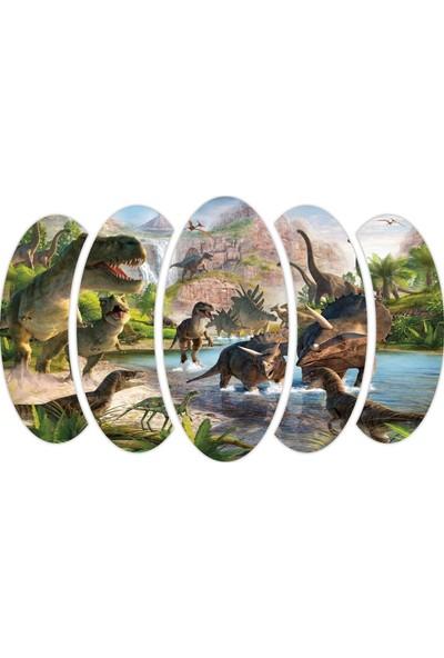 Renkselart Dinozor Mdf Tablo 2410